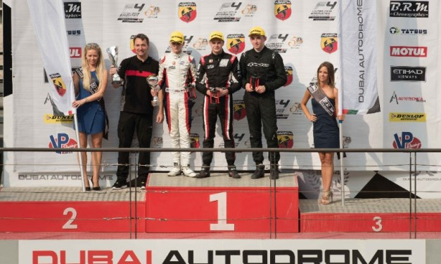 UAE: Aberdein takes early championship lead in opening rounds of UAE F4 at Dubai Autodrome