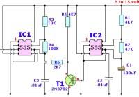 Wailing Alarm Siren Circuit Electronic