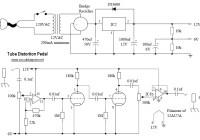Tube Distortion Pedal Circuit Electronic