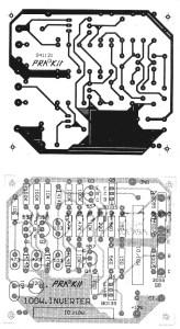 inverter 100w pcb layout