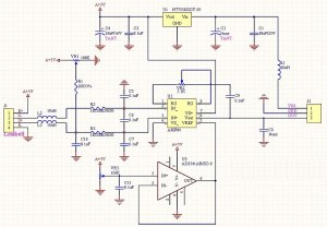 load cell amplifier schematic
