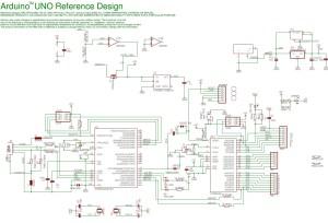 Arduino UNO  Circuit Schematic