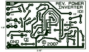 1000W Power Inverter PCB Layout Design