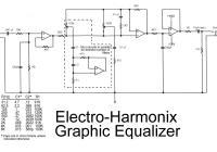 Electro-harmonix graphic equalizer circuit