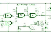 Car Audio System Anti Theft Security Circuit Diagram