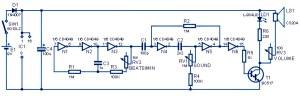 Metronome Sound Generator Circuit Diagram