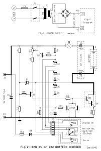 6V and 12V Car Battery Charger Circuit Design