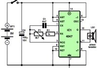 Simple Low Cost Mosquito Repellent Circuit Design
