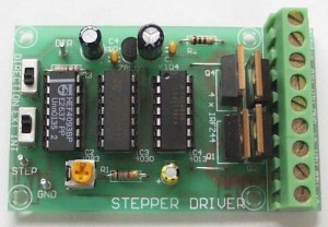 Unipolar Stepper Motor Driver Kit