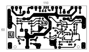 200W MOSFET Amplifier based IRFP250N PCB Layout