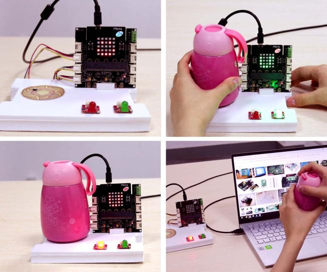 Elecrow-Mbits-Micro-Bit-ESP32-Microcontroller-Board-Drink-Water-Example-1