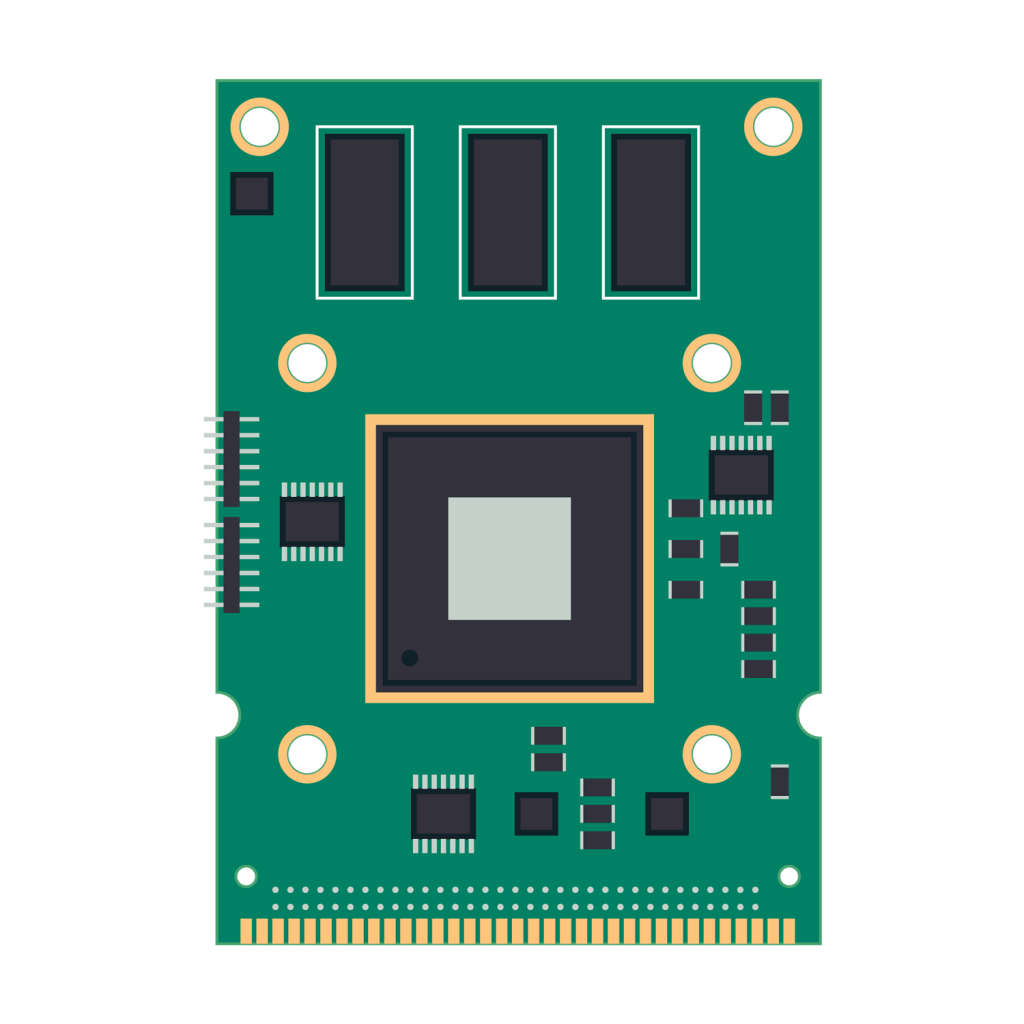 Embedded-System-PCB-Vector-1