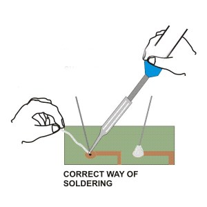 Basic Soldering Tips  Electronic Circuits and Diagrams