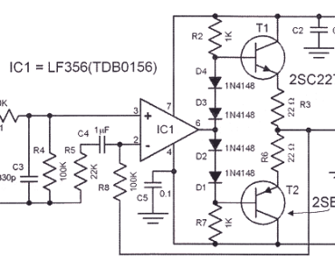 headphone amplifier circuit