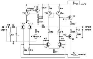 100W Basic MOSFET Amplifier Circuit » CircuitsZone