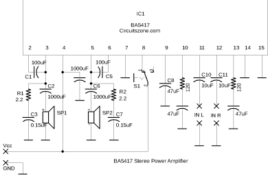 ba5417 power amplifier