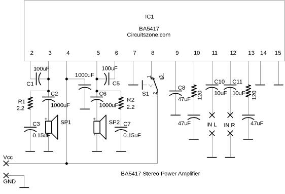 ba5417 power amplifier