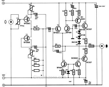 high dynamic range mixer circuit