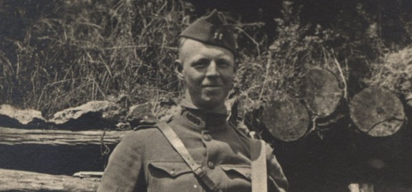 Stanhope Bayne-Jones in WWI uniform.