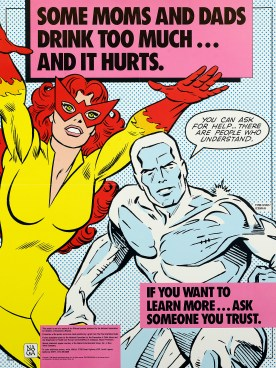 Super Heroes with a Serious Message – Circulating Now from NLM