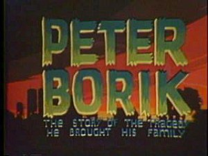 Title screen of Peter Borik The story of the tragedy he brought to his family.