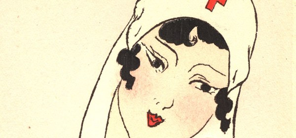 A sentimental drawing of a nurse.