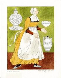 IX. Nurse, 16th Century