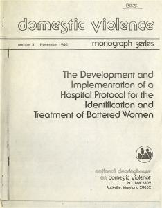 The cover/title page of a document 32 page document.