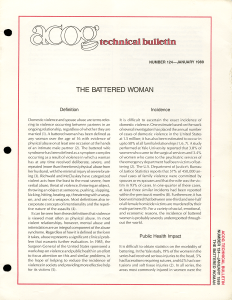 "Cover of ""The Battered Woman"""