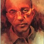 Illustration of Roy Cohn.