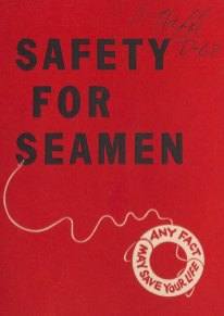 Safety for Seamen. Any fact may save your live.