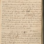 Handwritten page of a book with a heading: For a Fever or Ague Dr. James.