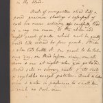Handwritten page of a book with a heading A Diet Drink to correct sharp humours in the blood.