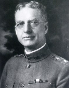 Portrait of a man in uniform.