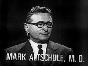 Mark Altshule, M.D. speaks on a panel.