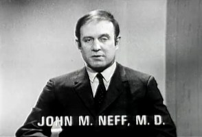 John M. Neff, M.D. speaks on a panel.