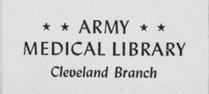 Army Medical Library Cleveland Branch