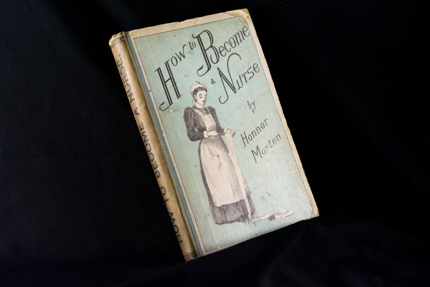 Photograph of the book How to Become a Nurse.