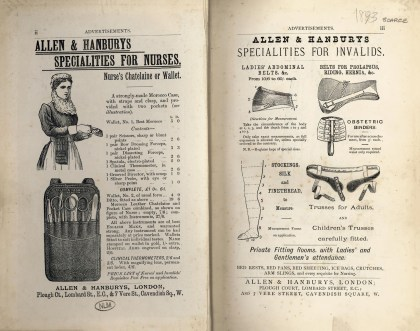Advertisements are found in the front and back of How to Become a Nurse National Library of Medicine #101705533
