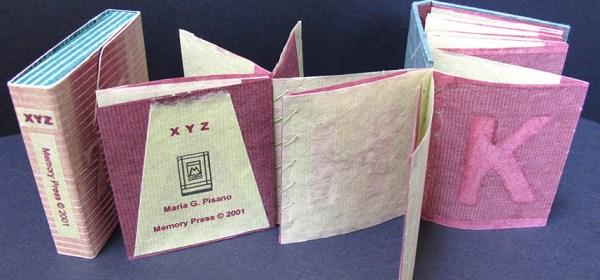 "Image of artist book, ""XYZ"""