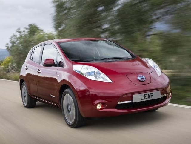 Nissan Leaf phase2 exterieur 1