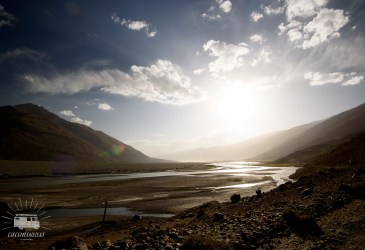 Evening skies in the Wakhan Valley.