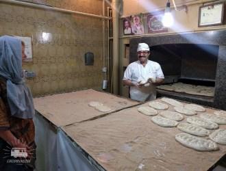 Iranian baker