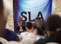 Sangu Delle at She Hive Accra / Photo Credit: SLA