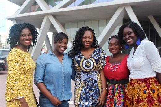#SisterhoodMatters Partners (L-R): Freda, Yvette, Jemila, Angela, Pearl