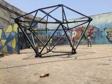 The fifth edition of the Chale Wote Street Art Festival took place in August in Accra and the historic Jamestown. Featuring The Open Gallery, The LABs, Spirit Robot Panels and a two-day street art festival it attracted Ghaniaans, Africans and people from all over. Credit: Hakeem Adam