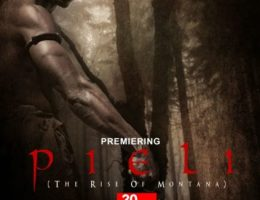 Ghana's first epic adventure movie Pieli: The Rise of Montana showing at Global Cinemas in Accra. A Dagbani film by OBL Studios with English subtitles. Director: Leonard A. Kubaloe