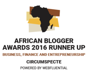 Circumspecte Top Africa Blog Award
