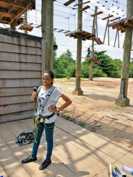 Annatu Abdulai - Life Lessons from Legon Botanical Gardens Rope Course