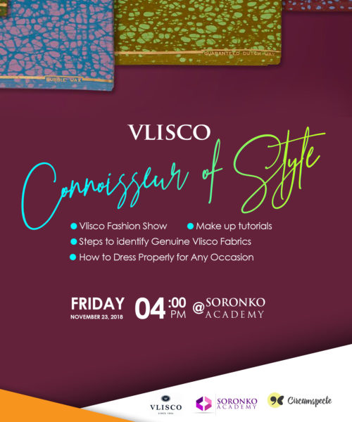 Vlisco Connoisseur of Style event